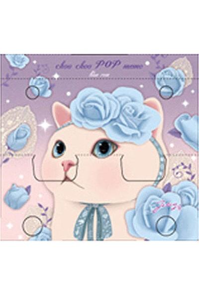 Jetoy Choo Choo Pop Bloknot Blue Rose
