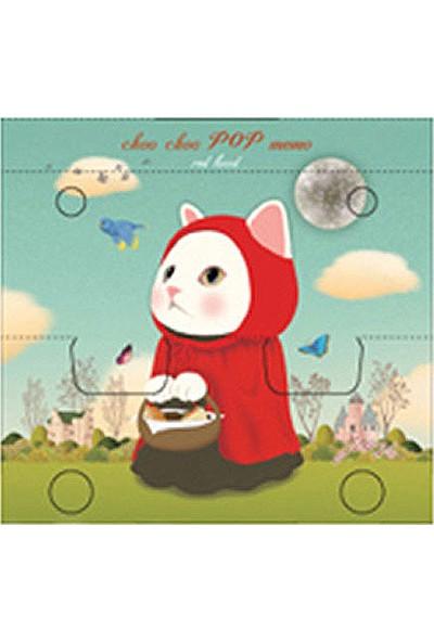 Jetoy Choo Choo Pop Bloknot Red Hood
