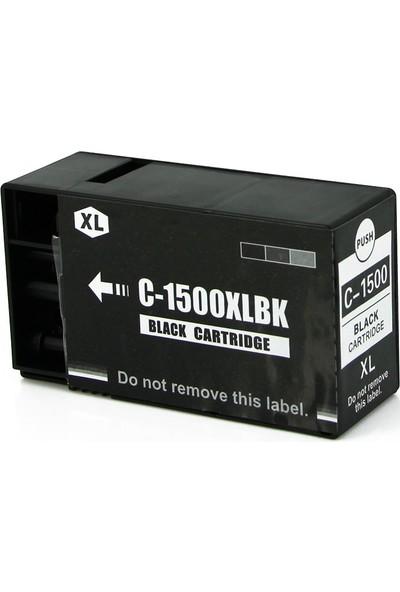 Premium® Canon Maxıfy 1500Xl Uyumlu Siyah Muadil Kartuş