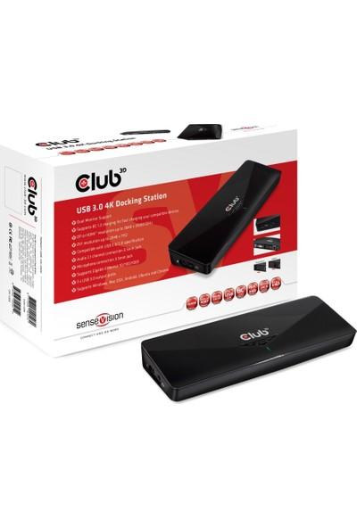 Club 3D USB 3.0 4K Yerleştirme İstasyonu CSV-3103D
