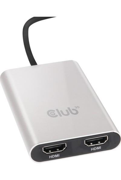 Club 3D Thunderbolt 3 - İkili HDMI 2.0 CSV-1574
