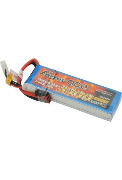 Gens Ace - 3300Mah 11.1V 25C 3S1P Lipo Batarya