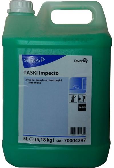 Diversey Taski Impecto Amonyaklı Genel Temizlik Maddesi 5.18 kg