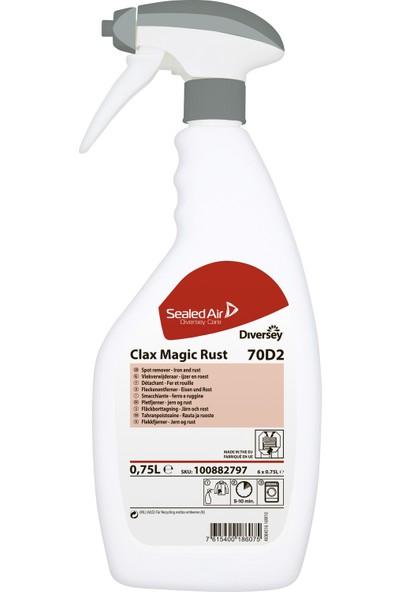 Diversey Clax Magic Rust Pas ve metal lekeleri için leke çıkarıcı