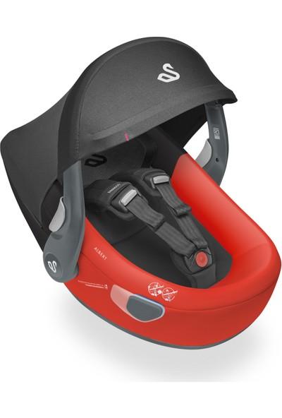 Swandoo Albert I-Size İsofix Bazalı 0-13 kg. Oto Koltuğu - Kırmızı & Siyah
