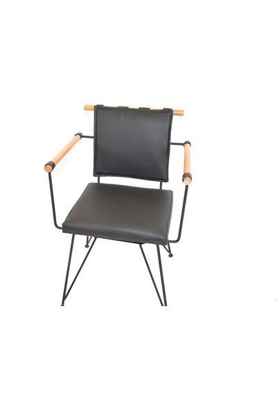 Ak Sandalye Payanda penyez sandalye siyah