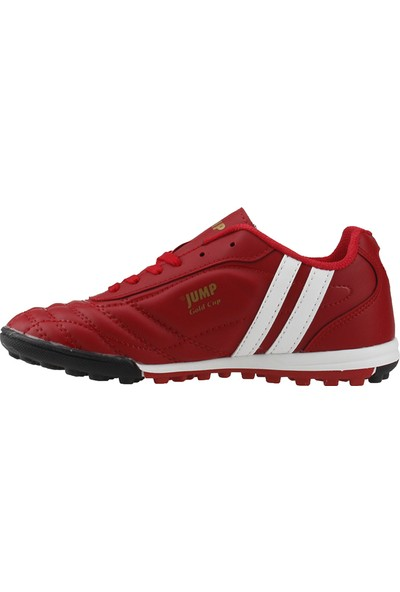 Jump 13258-E Kırmızı Halısaha Krampon Erkek Çocuk Futbol Ayakkabı
