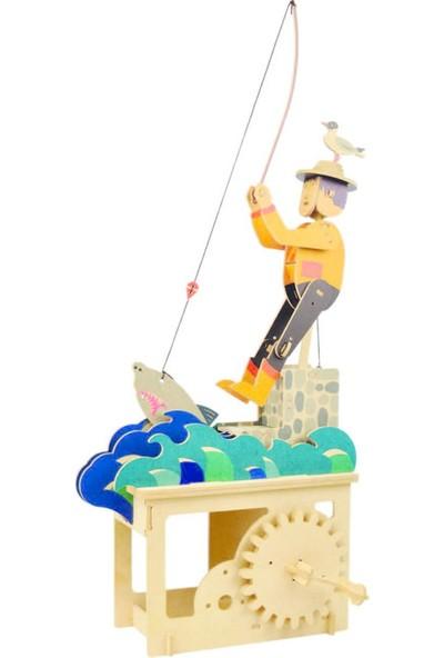 Artoy Ahşap Maket Balıkçı, Renkli