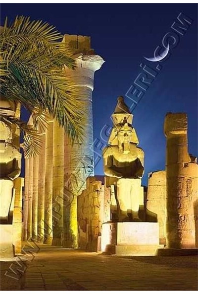 Castorland Luxor Temple By Night - Egypt, Castorland 1000 Parça Puzzle