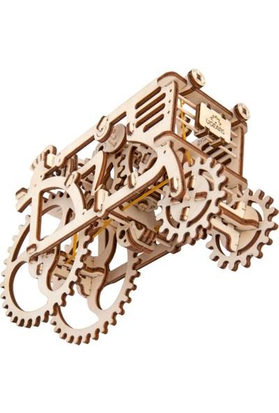 Ugears Ahşap Maket Tractor Mekanik (97 Parça)