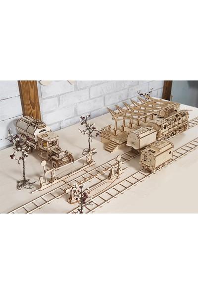 Ugears Ahşap Maket Kavşaklı Demiryolu Seti