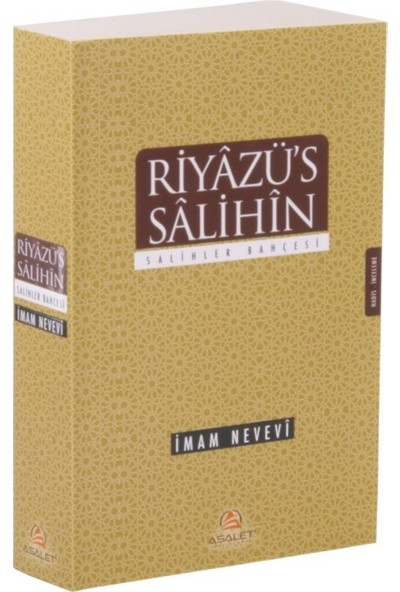 Riyazü'S Salihin Tercümesi - İmam Nevevi