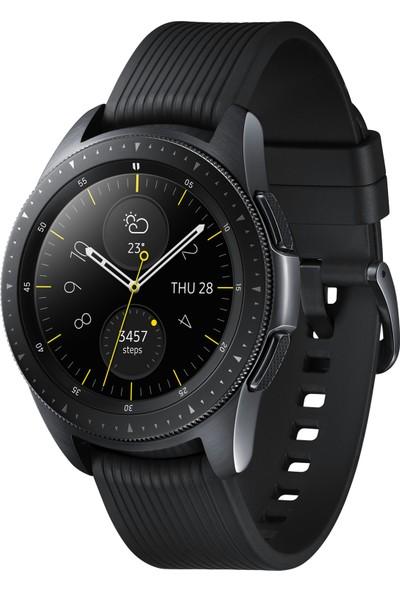 Samsung Galaxy Watch (42mm) (Android ve iPhone Uyumlu) Siyah - SM-R810NZKATUR (Samsung Türkiye Garantili)
