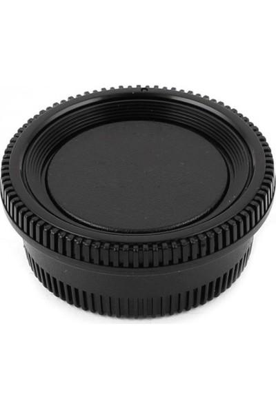 Ayex Nikon Body Kapağı Ve Lens Arka Kapağı