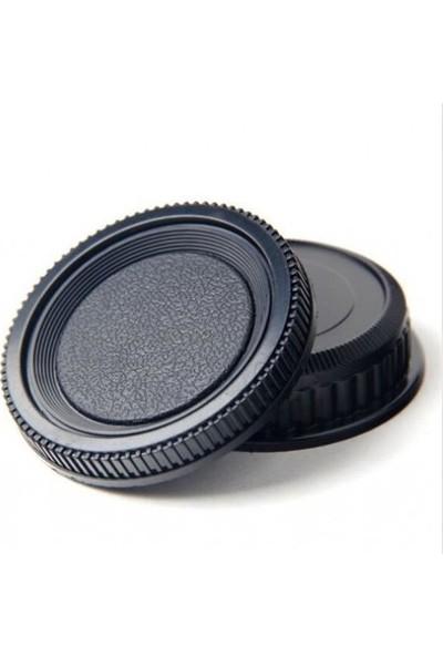 Ayex Pentax Makine Body Kapağı Ve Lens Arka Kapağı