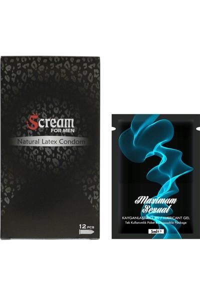 Scream Prezervatif Fonksiyonlu Paket
