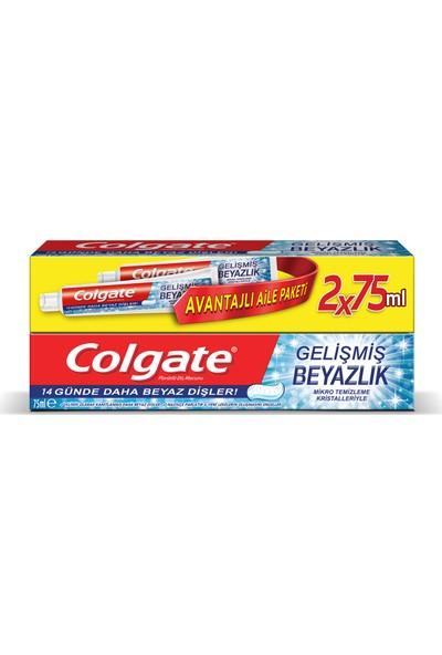 Colgate Gelişmiş Beyazlık Diş Macunu 75 ml x 2 Adet