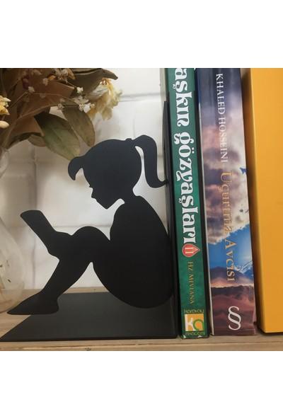 Metal Kitap Tutucu ''Kız Ve Oğlan''