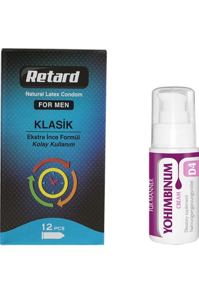 Retard Prezervatif Uzun Gece Paketi