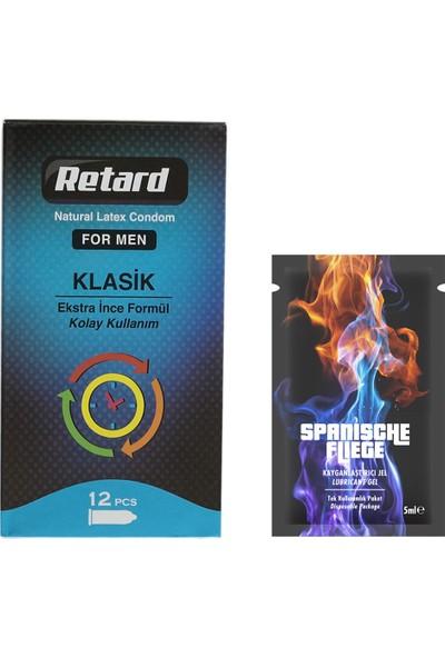 Retard Prezervatif Gold Paket