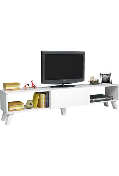 T Designo Negro Televizyon Ünitesi - Beyaz