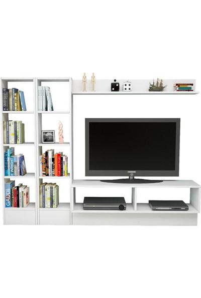 T Designo Harvey Televizyon Ünitesi- Beyaz