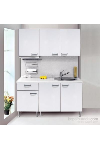 T Designo James Mutfak Dolabı - Beyaz