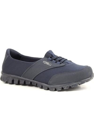 Forelli 60001G Comfort Kadın Ayakkabı Lacivert