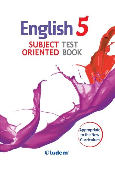 Tudem Yayınları 5.Sınıf İngilizce Kazanım Odaklı Soru Bankası