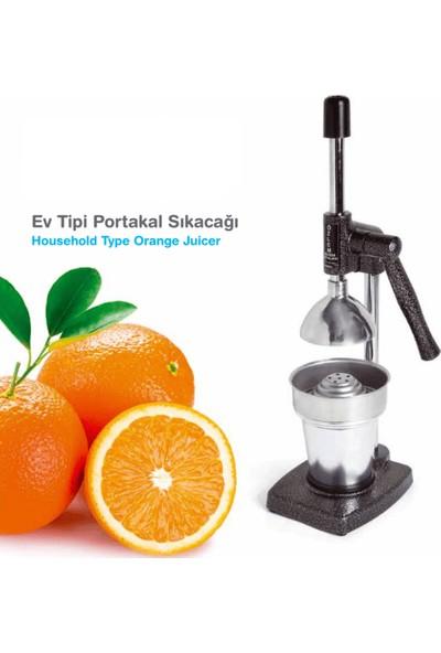 Özlem Ev Tipi Portakal Sıkacağı Kollu Meyve Presi Narenciye Sıkacağı