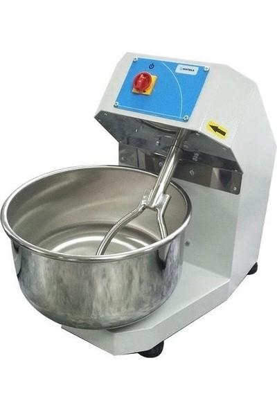 Mateka Hamur Yoğurma Makinesi 45 Kg Çatallı Tek Hızlı 220 Volt