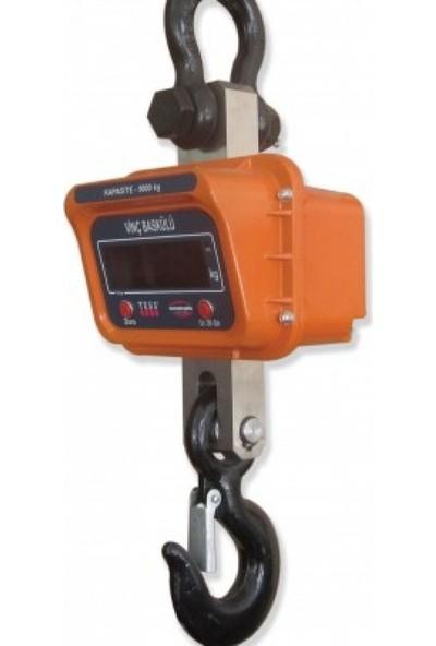 Tess Dijital Elektronik Vinç Terazi Baskül Tartı Aleti 5000 Kg 1000 Gr