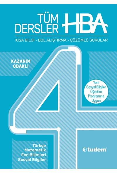 Tudem Yayınları 4.Sınıf Hepsi 1 Arada Tüm Dersler