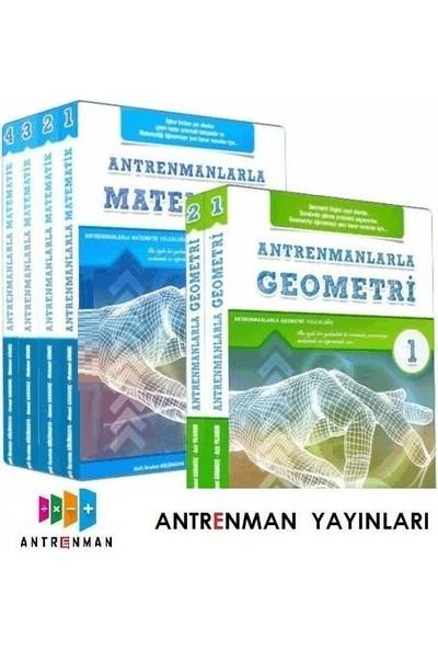 Antrenmanlarla Matematik 1. 2. 3. 4. Kitap + Antrenmanlarla Geometri 1. 2. Kitap Seti
