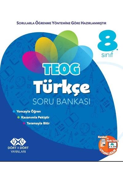 Dört X Dört Yayınları 8.Sınıf Türkçe Soru Bankası