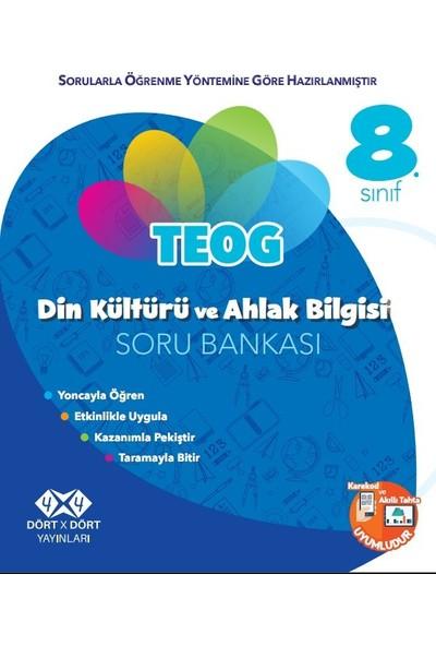 Dört X Dört Yayınları 8.Sınıf Din Kültürü Soru Bankası