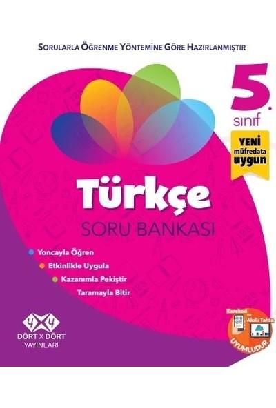 Dört X Dört Yayınları 5.Sınıf Türkçe Soru Bankası