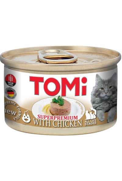 Tomi Tahılsız Tavuklu Kedi Konservesi 85 gr