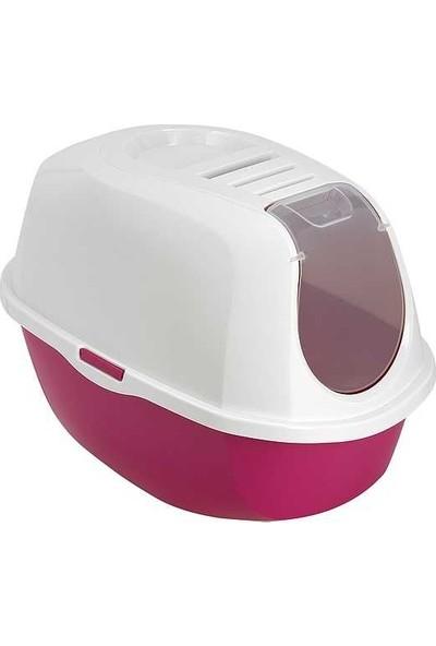 Moderna Smart Kapalı Kedi Tuvaleti 53 Cm Fuşya