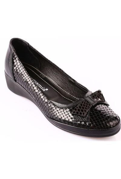 Mammamia D18Ka-805 Kadın Ayakkabı Günlük Siyah Msr Rgn/Siyah Fltr