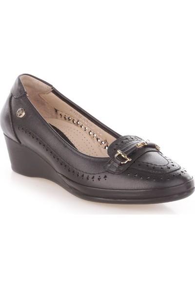 Forelli 32212 Kadın Dolgu Topuk Ayakkabı Int-30 Siyah