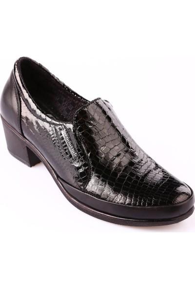 Mammamia D18Ka-130 Kadın Ayakkabı Günlük Siyah Fbr/Siyah Msr Rgn