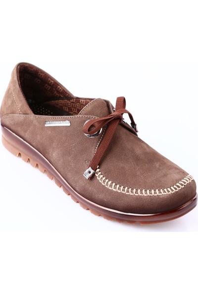 Mammamia D18Ka-460 Kadın Ayakkabı Günlük Kakao Nubuk