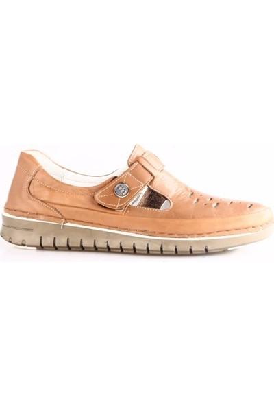 Mammamia 3120B Kadın Günlük Ayakkabı Taba Faber