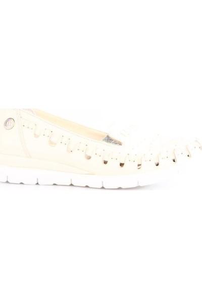 Mammamia 3260B Kadın Günlük Ayakkabı Bej Faber