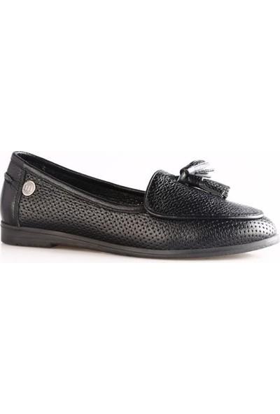 Mammamia 330B Kadın Günlük Ayakkabı Siyah Flotur
