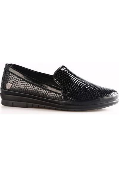 Mammamia 3375B Kadın Günlük Ayakkabı Siyah Bamba