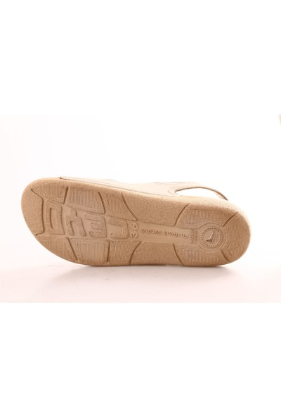 Ceyo 1300-4 Kadın Sandalet Bej