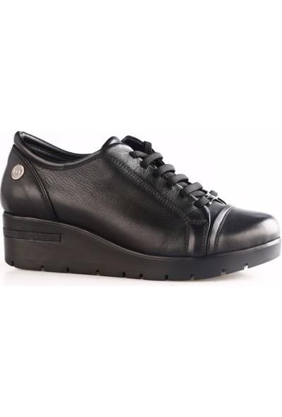 Mammamia 3200B Kadın Günlük Ayakkabı Siyah Faber