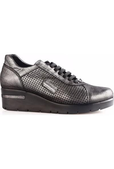 Mammamia 3740B Kadın Günlük Ayakkabı Siyah Jale
